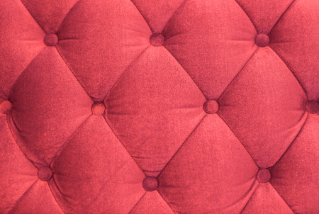 red sofa: Red sofa cloth background Stock Photo