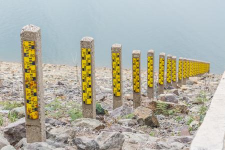 depth measurement: Dam water level, Watergate Index