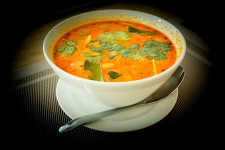 gung: Tom Yum. Very spicy sour and delicious soup. Thai food