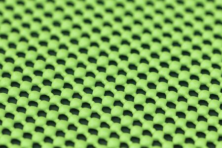 skid: Close up detail of green skid mat Stock Photo