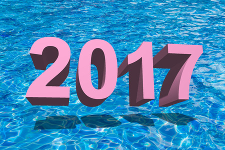 iron oxide: number 2017 for New Year