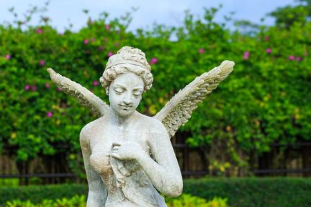 Fairy Statue in the garden
