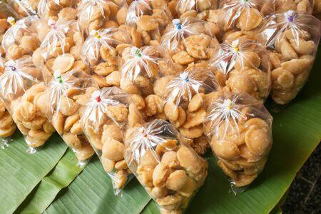 palm sugar floating market at Amphawa Thailand Stock Photo