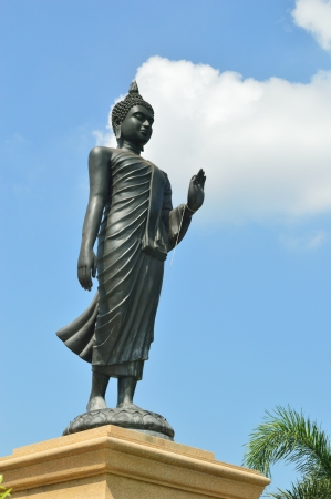 Stand Thai Buddha Statue