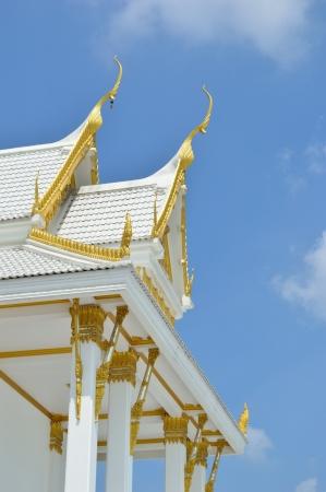 Thai Church  Stock Photo