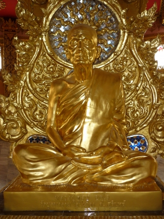 clergy: Clergy statue in tample