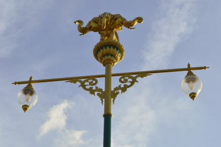 close up erawan Street light  photo