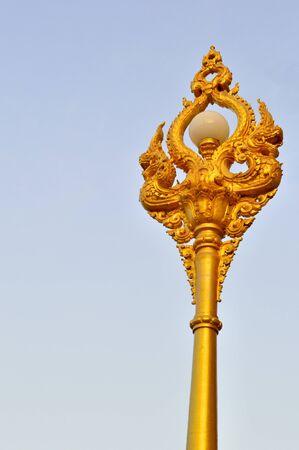 thai Naka Street light  Stock Photo