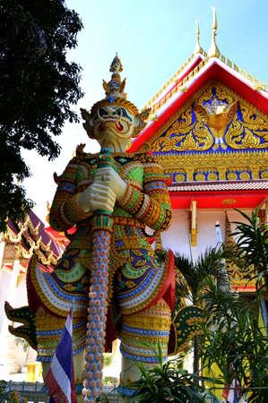statue giant at churches in thai