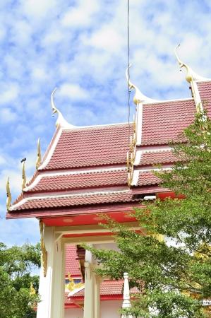 thai tample Church   Stock Photo