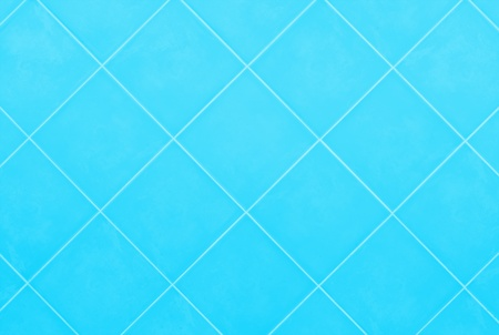 soft blue or cyan Tile glossy mosaic Earthenware material background photo