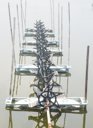 Aerator for enriching water with oxygen photo