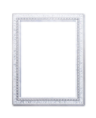 white frame white background photo