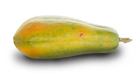 Reife Papaya Mit
