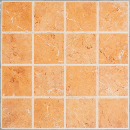 brown Tile glossy mosaic Earthenware material in the bathroom photo