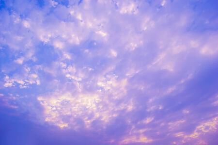purple and blue sky cloud  sunset photo