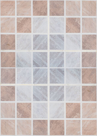 Tile glossy mosaic Earthenware material in the bathroom photo