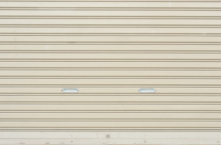 corrugated metal sheet,white Slide door ,roller shutter texture photo