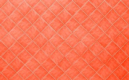 red Tile glossy mosaic Earthenware material background