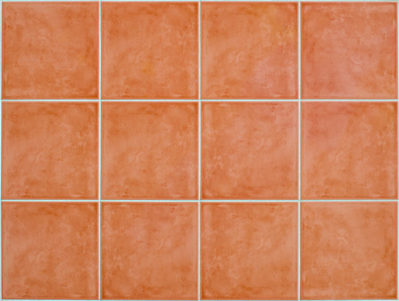 square Tile glossy mosaic Earthenware material in barthroom  background