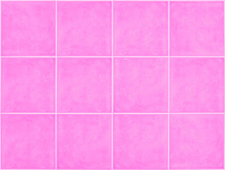 pink  square Tile glossy mosaic Earthenware material in barthroom  background