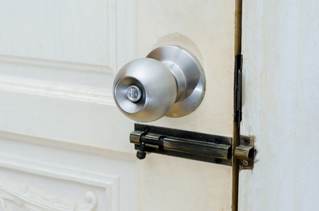 Knob door wooden door White stainless door knob or handle, hand knob door hand press door lock knob