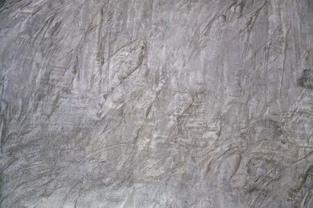 background Plaster Rough gray cement mortar used as a design background Stok Fotoğraf