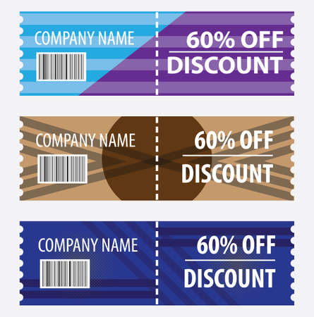 Discount coupon. Great vector for social media, online stores, product marketing, sales promotions, vouchers, web, gifts etc.