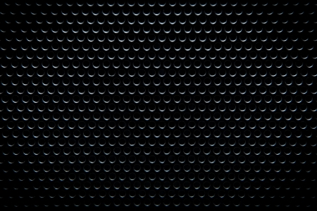 BLACK METAL GRATE BACKGROUND Stock Photo