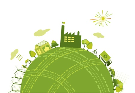 Green world Vector