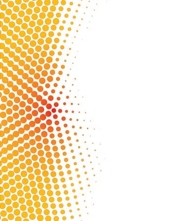 Colorful demi-fond Vecteurs