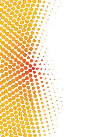Colorful halftone background