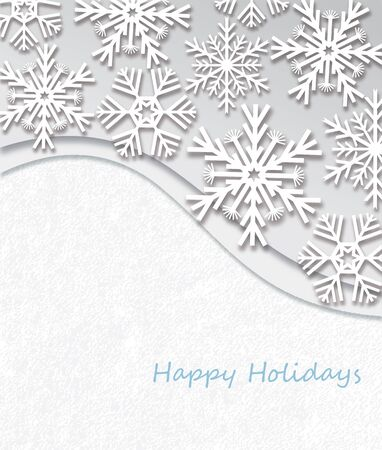 Happy Holidays, Christmas Card