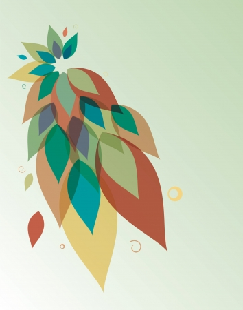 Abstract floral background.Spring.