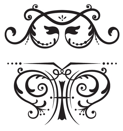 Scrolls for design and decoration