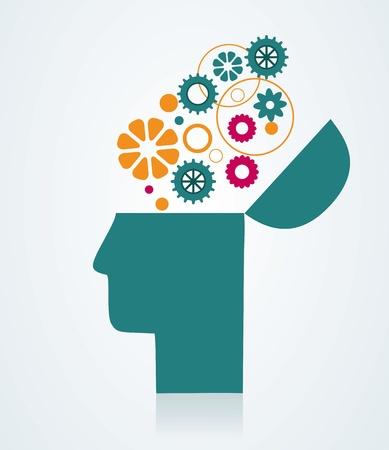 Het concept van de verbeelding en ideeën