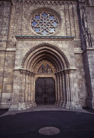 matthias church: Matthias church in Budapest, Hungary.