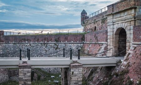 serbia: Kalemegdan fortress enterance, Belgrade, Serbia Editorial