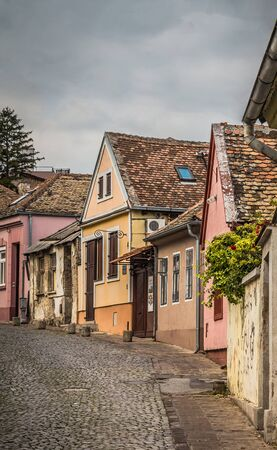 Small rusty houses, historical place Gardos, municipally Zemun