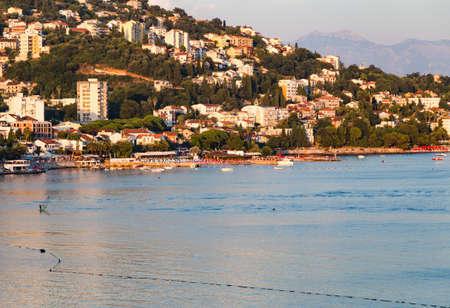 City of Herceg Novi sunset, Montenegro