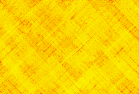 Pencil Texture On Red Background. Yellow Color