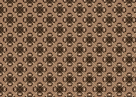 Abstract background pattern. Beige and brown color.  Modern design Imagens