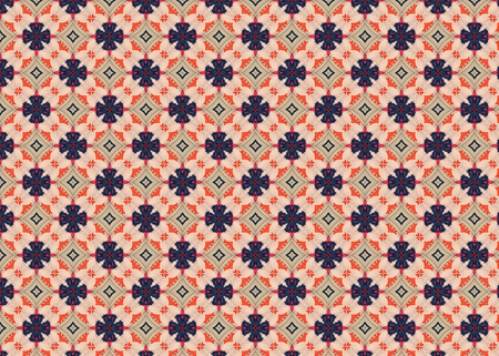 Abstract background pattern. Blue geometric shapes. Modern design