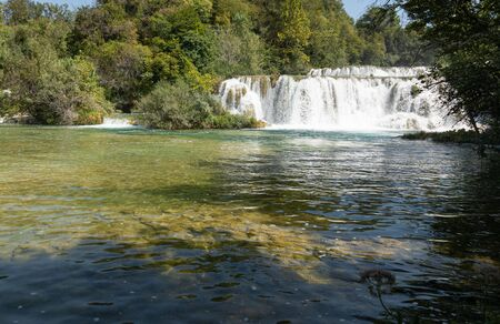 Krka National Park one of the most famous and the most beautiful park in Croatia. Travel destination