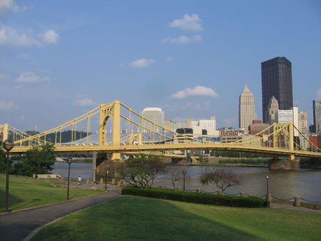 highrises: A View of The Northern Side of Downtown Pittsburgh