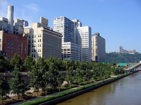 A View of The Northern Side of Downtown Pittsburgh photo