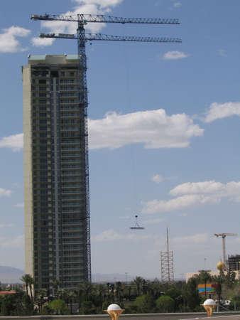 High-rise Construction In Las Vegas Nevada Imagens