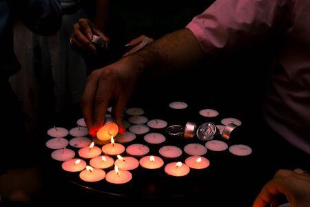 hearthside: Wedding lights