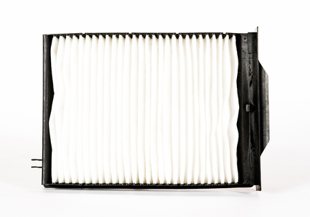 Sharp photo of engine air intake filter 版權商用圖片
