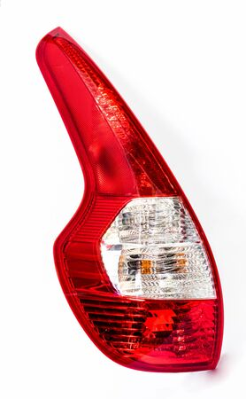 Sharp realistic photo of car rear lamp cluster
